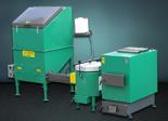 06653043 Automatyczny zestaw do spalania biomasy 2m3 230V 30kW, głowica: ceramiczna, bez systemu usuwania popiołu (paliwo: trociny, wióry, zrębki)