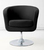 99851051 Fotel obrotowy Magnum (kolor: biały/czarny)