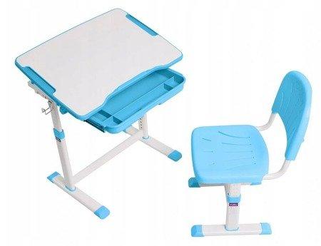Biurkosa Biurko i krzesełko dziecięce Blue 11976306