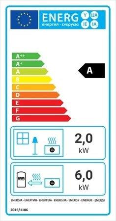DOSTAWA GRATIS! 30041196 Wkład kominkowy 8kW Maja BS z płaszczem wodnym, wężownicą (prawa boczna szyba bez szprosa) - spełnia anty-smogowy EkoProjekt