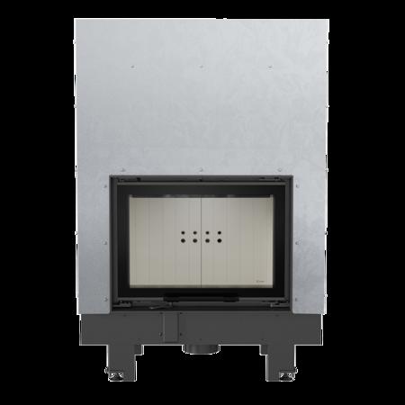 KONS Wkład kominkowy 10kW MBM Gilotyna (szyba prosta, drzwi podnoszone) - spełnia anty-smogowy EkoProjekt 30055016