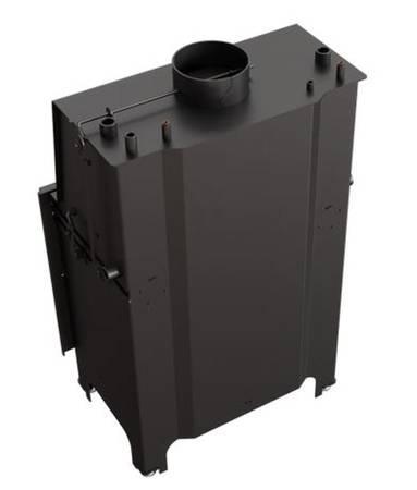 KONS Wkład kominkowy 14kW AQUARIO A14 PW GLASS z płaszczem wodnym, wężownicą (szyba prosta) - spełnia anty-smogowy EkoProjekt 30065531