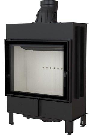 KONS Wkład kominkowy 15kW Lucy (szyba prosta) - spełnia anty-smogowy EkoProjekt 30055399