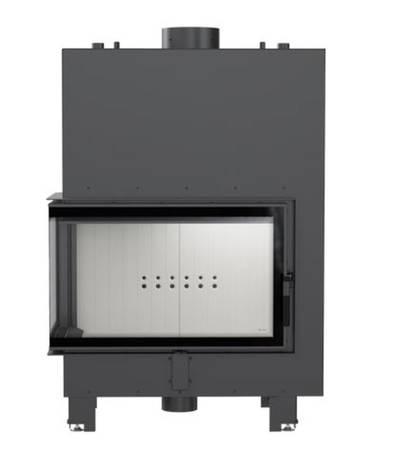 KONS Wkład kominkowy 15kW MBO PW BS z płaszczem wodnym, wężownicą (lewa boczna szyba bez szprosa) - spełnia anty-smogowy EkoProjekt 30066821