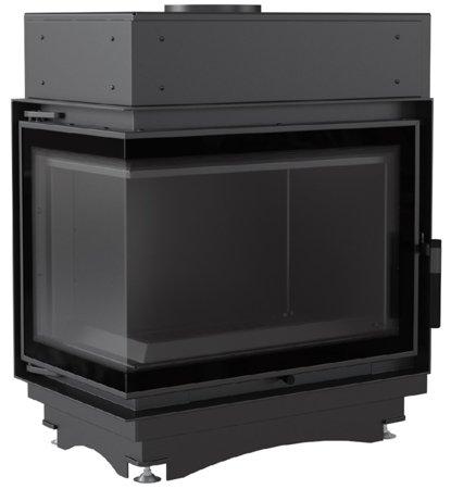 KONS Wkład kominkowy 8kW Maja BS DECO z płaszczem wodnym (lewa boczna szyba bez szprosa) - spełnia anty-smogowy EkoProjekt 30063889