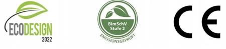 Piec wolnostojący 9,70-12kW (wylot spalin: 120mm) - spełnia anty-smogowy EkoProjekt 99676506