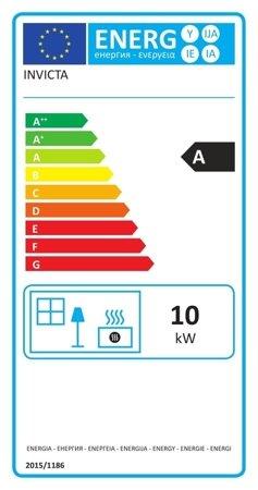 Piec wolnostojący Invicta 10kW Sedan M (kolor: emalia kość słoniowa) - spełnia anty-smogowy EkoProjekt 86829181