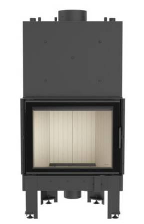 Wkład kominkowy 12kW NADIA PW 10 z płaszczem wodnym, wężownicą (szyba prosta) - spełnia anty-smogowy EkoProjekt 30046806