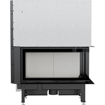 Wkład kominkowy 14kW Nadia Gilotyna (prawa boczna szyba bez szprosa, drzwi podnoszone do góry) - spełnia anty-smogowy EkoProjekt 30046758
