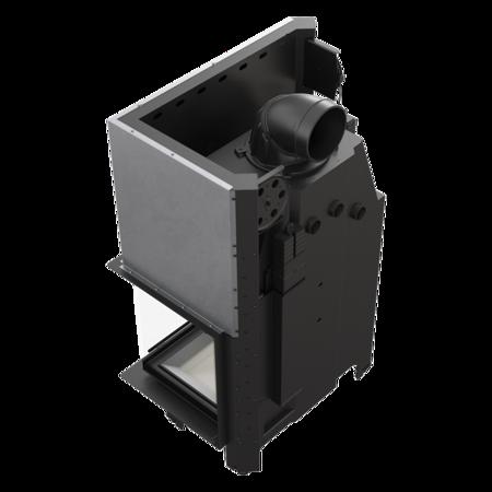 Wkład kominkowy 17kW MBA BS Gilotyna (prawa boczna szyba bez szprosa, drzwi podnoszone) - spełnia anty-smogowy EkoProjekt 30055011