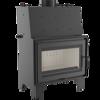 Wkład kominkowy 12kW AQUARIO O12 z płaszczem wodnym, wężownicą (szyba prosta) - spełnia anty-smogowy EkoProjekt 30045552